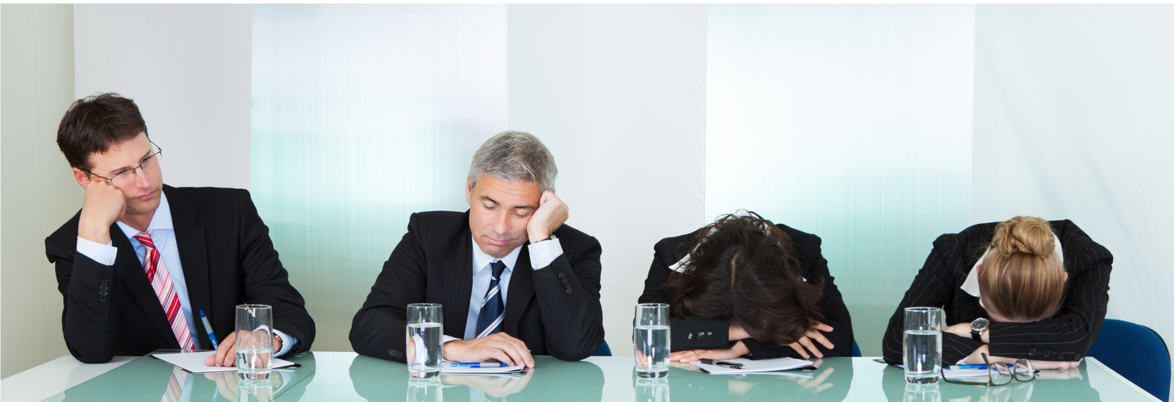 Bored delegates